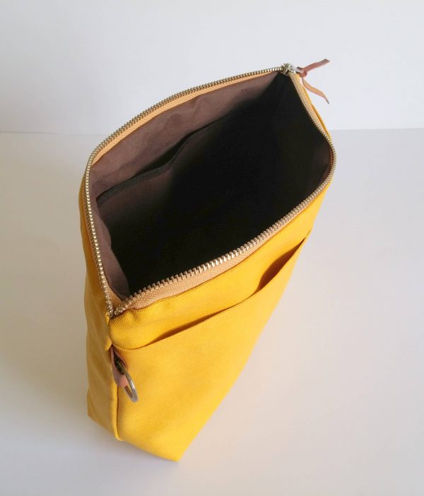 Yellow pouch capacity