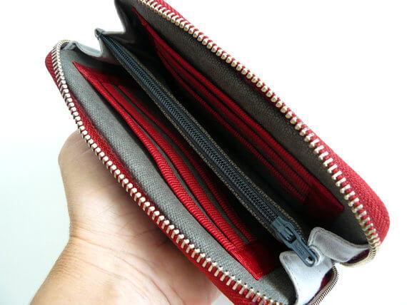 open wallet empty