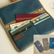 Bifold wallet - with cards and money
