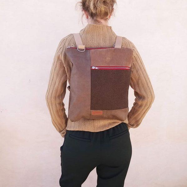 textile backpack