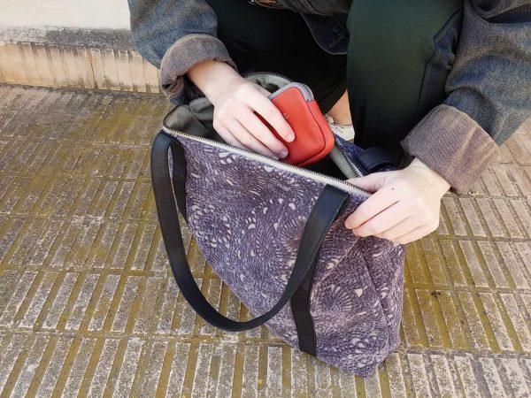 purple bag capacity