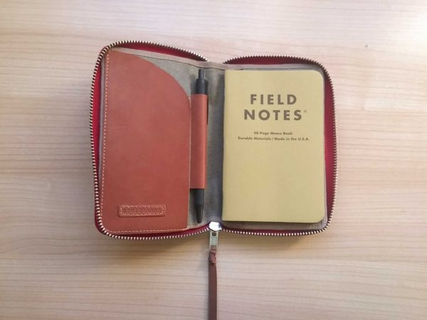 with journal inside