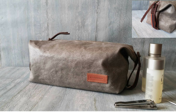 convertible dopp kit bag full view