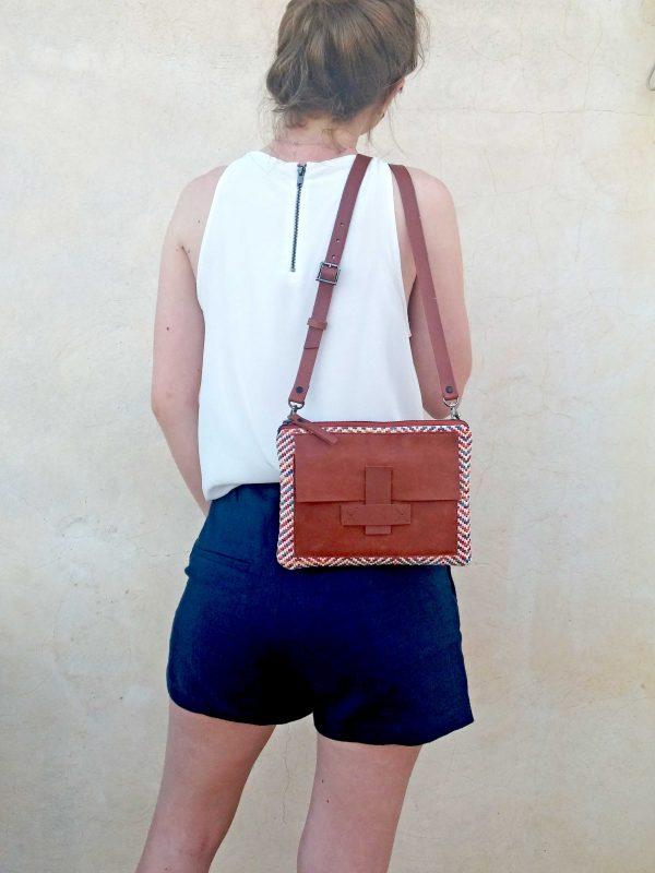 bag hanging on the back model