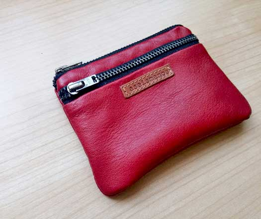 leather quality close view