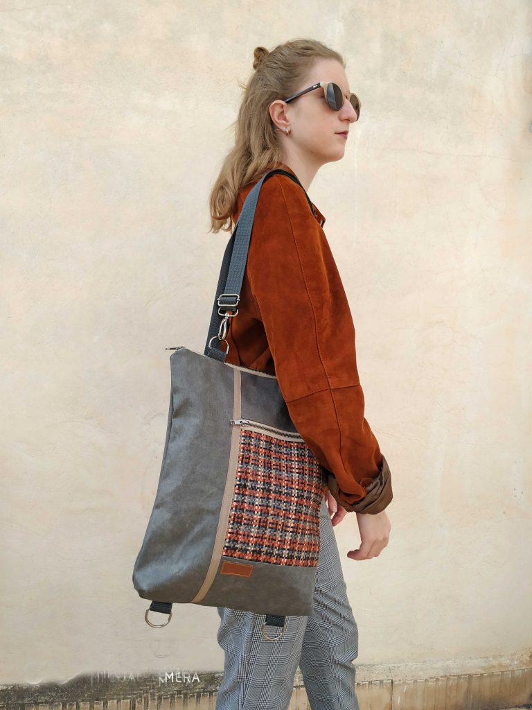 bag worn as a shoulder bag