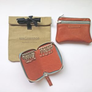 gift set wallet keyring