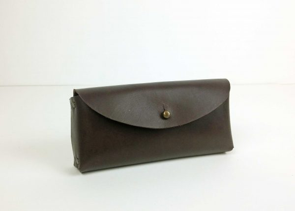 glasses case brown leather 1