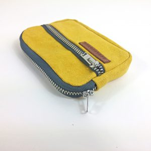 yellow poket wallet