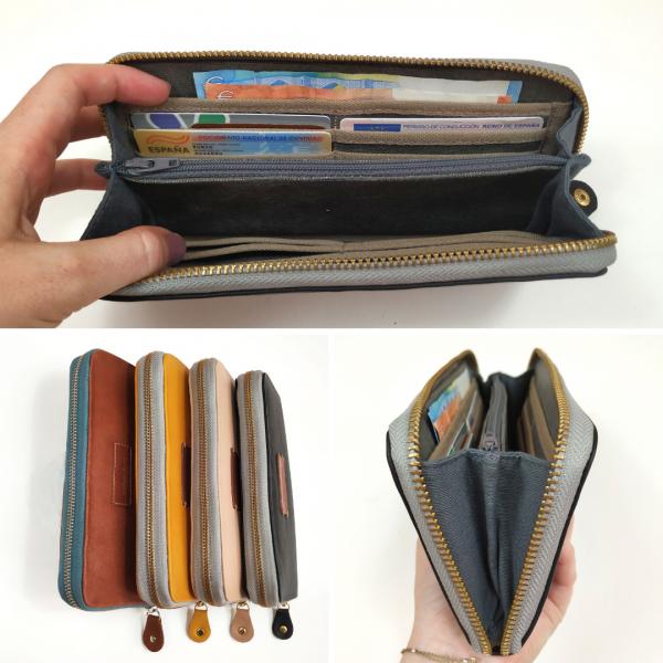 several views of wallet