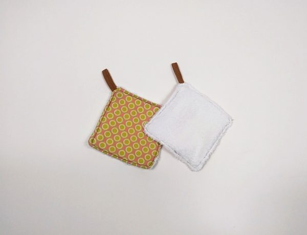 mostrando reverso de toalla