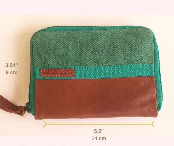 wallet outside dimensions