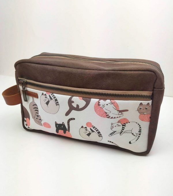 toiletry bag front view