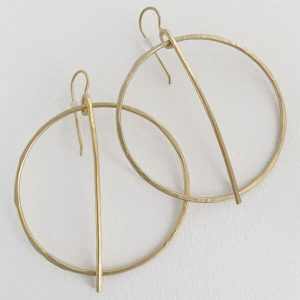 earrings close view