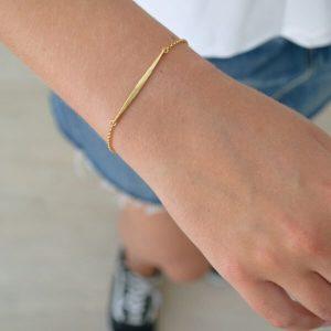 bracelt on wrist